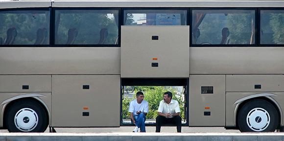 Los autobuses grabarán con cámaras en sus viajes