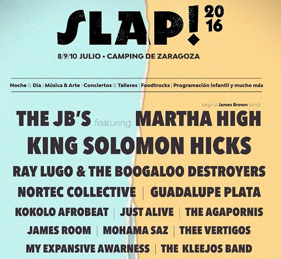 Disfruta del Slap! Festival 2016 viajando en autobús a Zaragoza