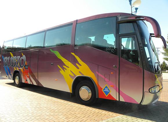 Castilla La Mancha se promociona en autobús