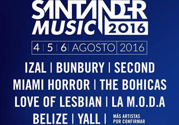 Disfruta del Santander Music Festival 2016 viajando en autobús