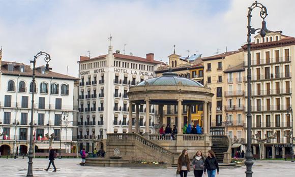 Prepara un viaje barato en autobús a Pamplona para este otoño