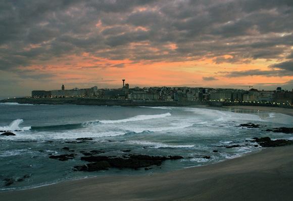 Aprovecha la Navidad para viajar en autobús a La Coruña