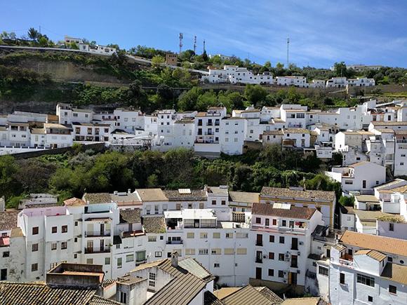 Septiembre 2017: autobuses baratos y Pueblos Blancos de Andalucía