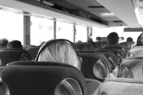 En noviembre 2017 visita Canfranc en autobuses baratos