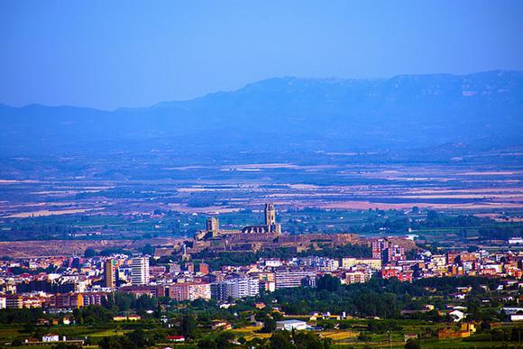 En julio 2018 viaja en autobuses baratos a Lleida